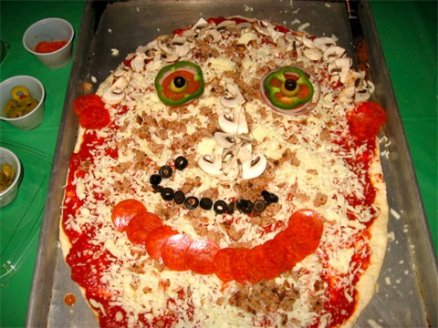 A Happy Pizza is a GREAT Pizza!