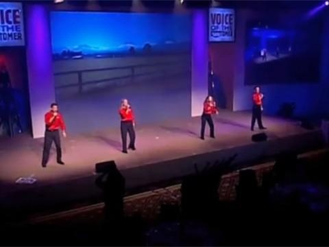 US Bank Meeting Kick-Off with Original Song